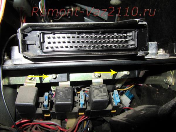 замена блока управления двигателем на ВАЗ 2110-2112