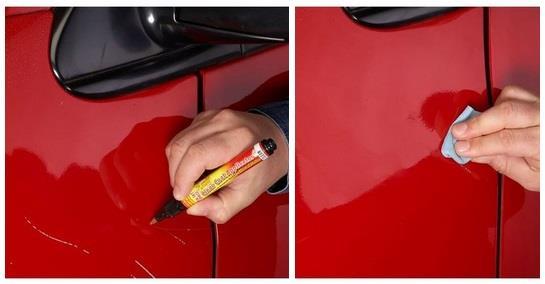 Как убрать мелкие сколы на машине своими руками 22