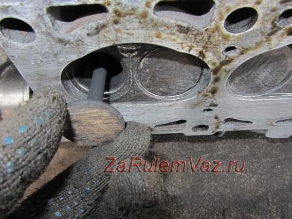 замена клапанов на ВАЗ 2114