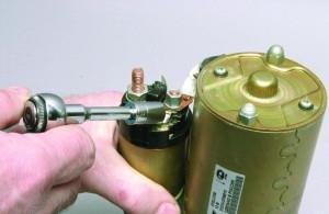 Фото ремонта стартера ВАЗ 2108, лада2111.рф