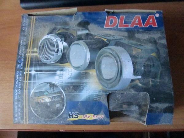 Установка линзовых ПТФ DLAA в ВАЗ 2115