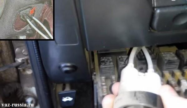 Гидрокорректор фар в Ладе Гранта