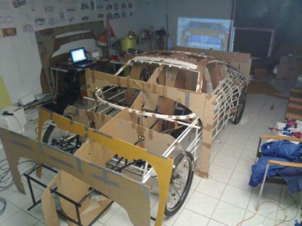 Комната отдыха. / Porsche 911 GT3 RS своими руками