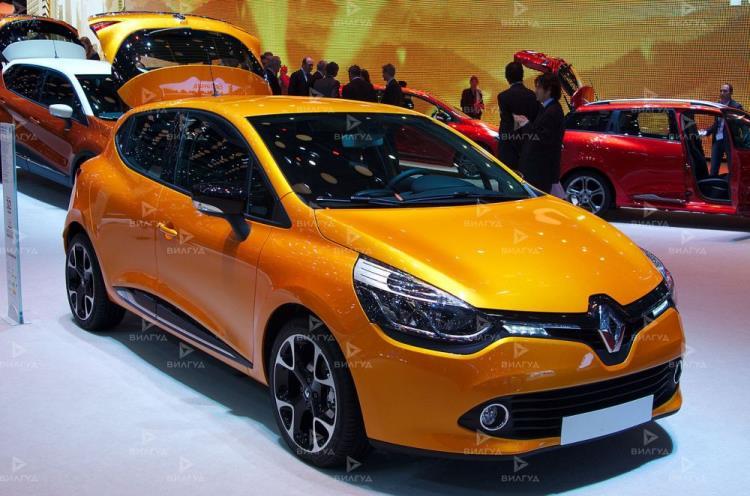 Замена дроссельной заслонки Renault Clio в Волгограде
