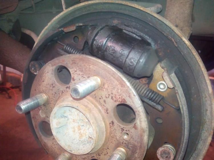 замена тормозного цилиндра chevrolet aveo 3
