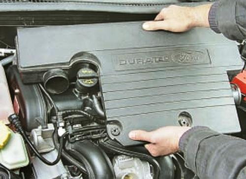 Снятие и установка двигателя Ford Fusion Fiesta