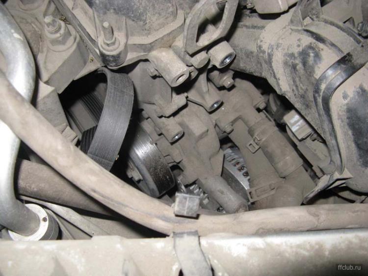 ford c-max замена термостата