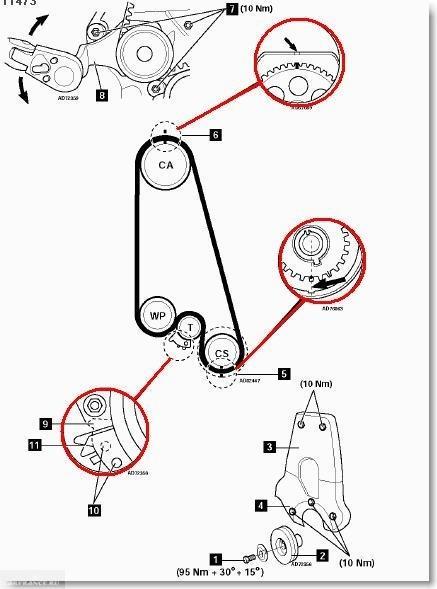 Ремень ГРМ на Шевроле Ланос: замена своими руками