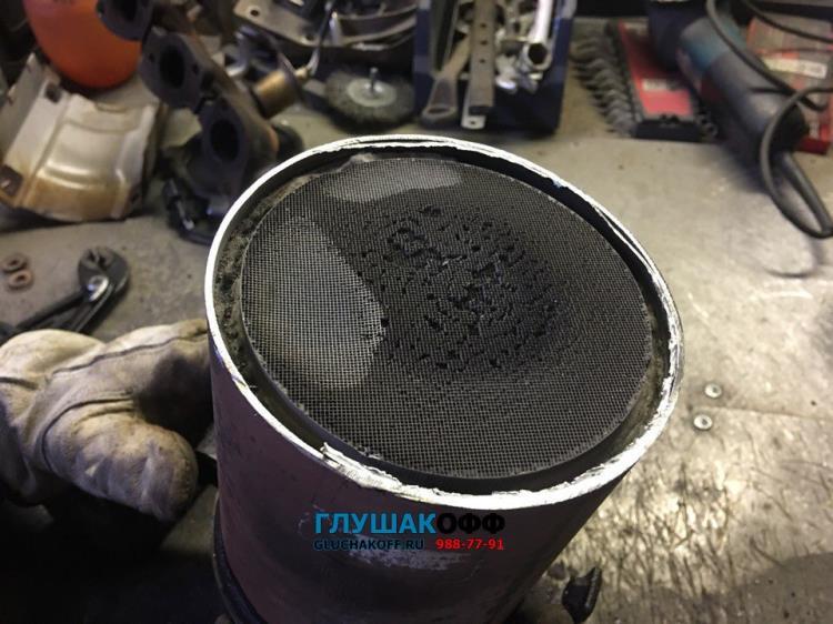 Chevrolet Epica 2.0 - Замена катализаторов на пламегасители