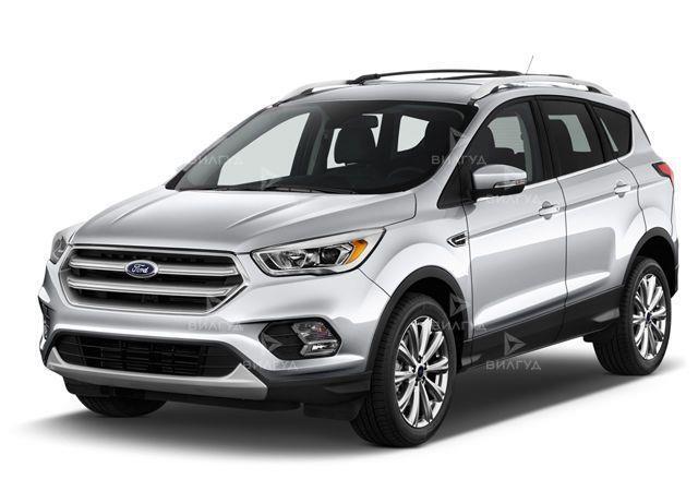 Замена диска сцепления Ford Escape в Тюмени