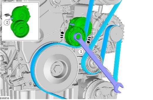 замена ремня генератора форд с макс