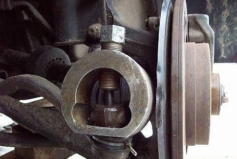 замена рулевых наконечников на авто рено логан видео