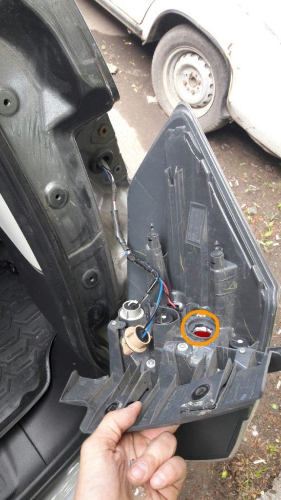 Инструкция по замене ламп стоп сигнала X-trail T32