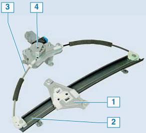 как поменять моторчик стеклоподъемника на шевроле лачетти