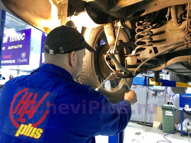 Замена задних амортизаторов и компрессора подкачки Шевроле Тахо (8).jpg
