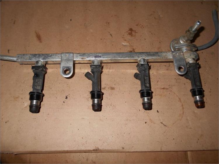 Chevrolet Lanos рампа и форсунки Шевроле Ланос снятие замена ремонт купить цена