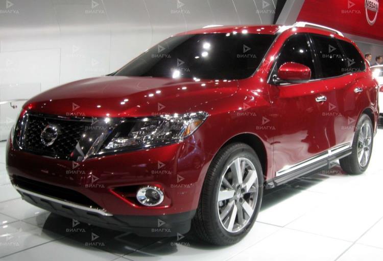 Замена звукового сигнала Nissan Pathfinder в Санкт-Петербурге