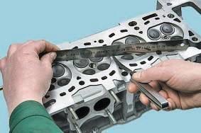 Проверка головки блока цилиндров Nissan Cashcai