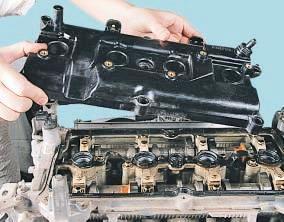 Крышка головки блока цилиндров Nissan Qashqai