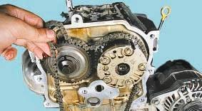 Цепь привода газораспределительного механизма Nissan Cashcai