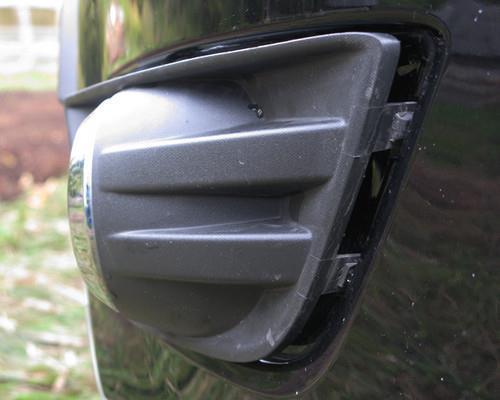 замена противотуманки форд фьюжн