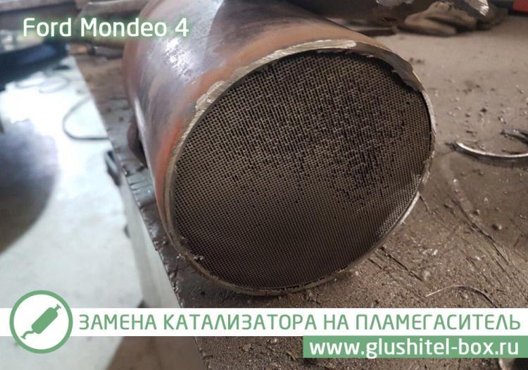 Mondeo забитый катализатор