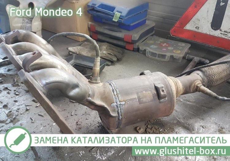 ремонт катализатора форд мондео