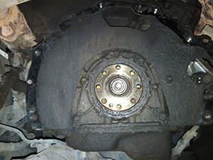 Замена сцепления Toyota Land Cruiser Prado: фото работ автосервиса ДжапСервис в Москве №2
