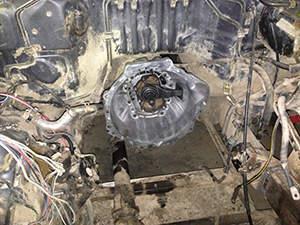 Замена сцепления Toyota Land Cruiser Prado: фото работ автосервиса ДжапСервис в Москве №1