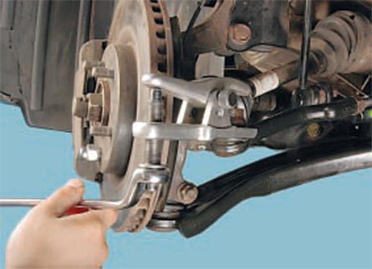 Замена рулевой рейки Nissan Qashqai