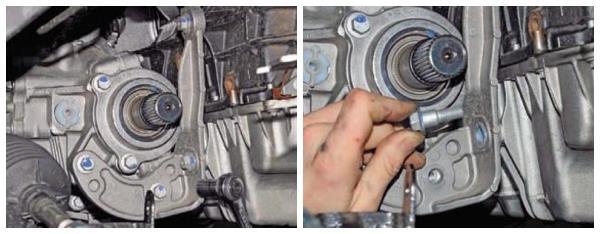 Демонтируем раздатку на Renault Duster