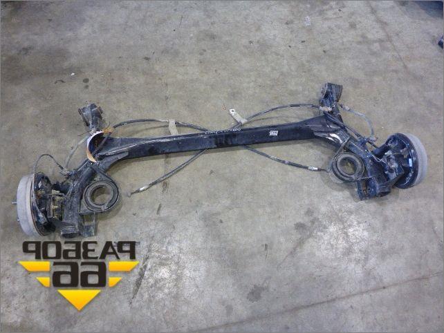 Задняя подвеска Chevrolet Spark (Шевроле Спарк) AT (52 л.с.)