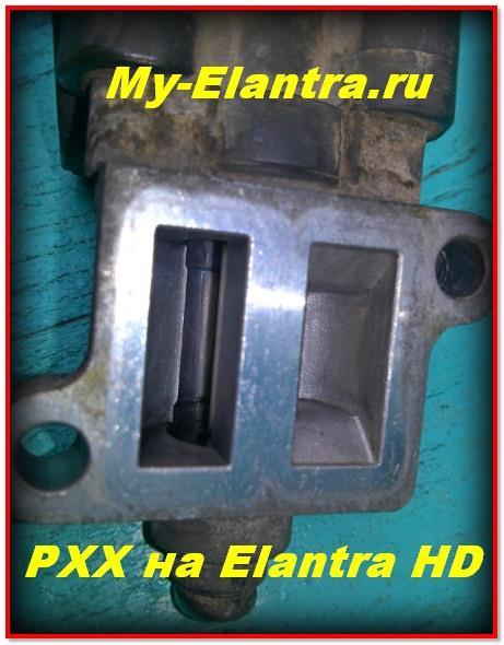 РХХ на Elantra HD