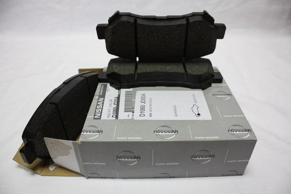 Колодки тормозные Nissan D1060-JD00A