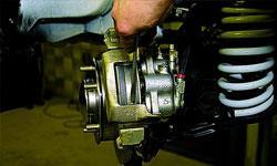 Замена тормозных суппортов Ford Kuga