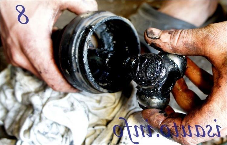 Chevrolet Lanos внутренний шрус граната привод Шевроле Ланос снятие замена ремонт купить цена
