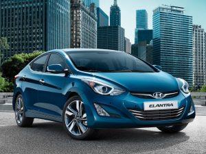 Покраска Hyundai Elantra