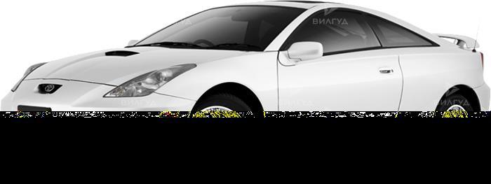 Замена салонного фильтра Toyota Celica в Нижневартовске