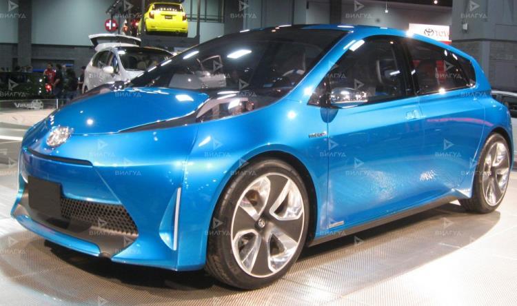 Замена патрубков охлаждения Toyota Prius во Владивостоке
