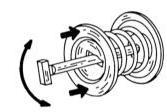 Элементы для снятия и установки анкерных штифтов тормозных колодок.