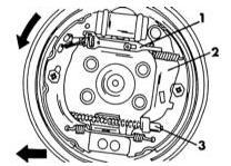 Правильная сборка тормоза заднего колеса