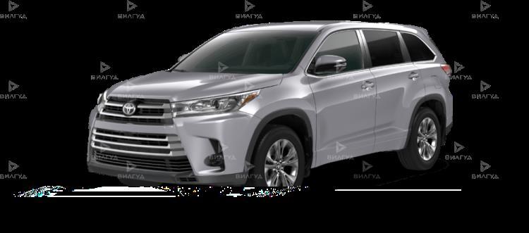 Замена звукового сигнала Toyota Highlander в Тюмени