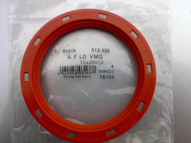 Новый сальник коленчатого вала Toyota Camry (ELRING 504483)