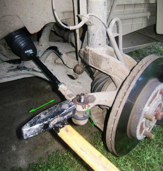 Как заменить рулевую тягу Форд Фьюжн своими руками