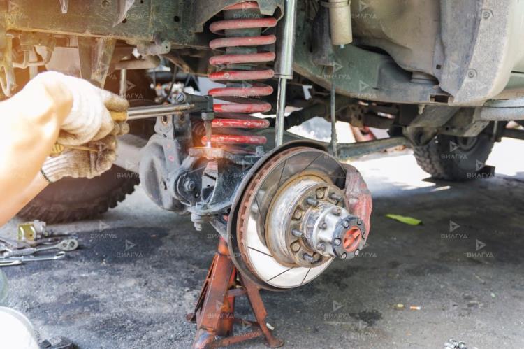 Замена передних пружин Chevrolet Spark в Тольятти