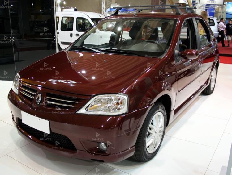 Замена крана отопителя Renault Logan в Тюмени